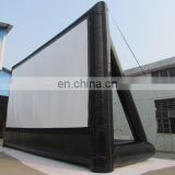 Backyard inflatable movie screen inflatable projector screens