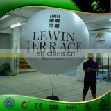 Advertising Customized Inflatable Stand LED Light Ball Tripod Balloon With Logo Printing