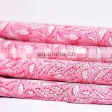 Indian New Hand Block Cotton Fabric Crafting Dressmaking Sewing Fabric By Meter
