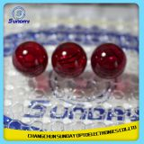 Ruby ball lens and half ball lenses in stock