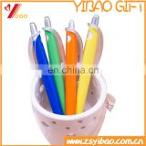 Custom logo plastic ball pens with full color printing