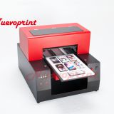 Desktop diy a4 size 6 colors uv flatbed printer inks durability NVP2040