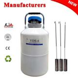 China liquid nitrogen dewar 6L with straps carry bag price in LI