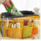New design Dual Cosmetic bag, receive packages, wash package wholesale