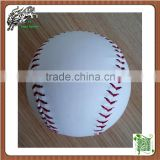 White Color PVC fast softballs High Density Cork Core Pro Leather Cover 12inch Softballs