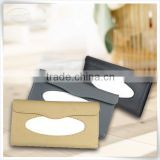 Christmas season hot promotion leather kitchen tissue paper roll holder for home