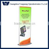 Floor Stand LED light box/ Floor Free stand double sides poster display/Rotated standing led light box
