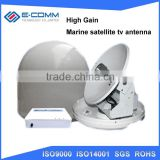 Direct Manufacturer!! Marine satellite TV antenna YM340 marine satellite tv antenna Two-axis gyro tracking resistance to shock