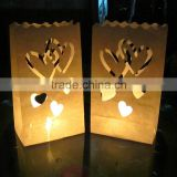 Halloween Party Supplies Paper Candle Bags Lantern for Wedding and Party Decoration