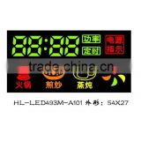 0.28 inch 4 digit full color led displays for electric wok