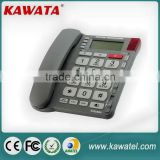 Factory price large button one touch memory corded Phone