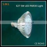 5W led spotlight focusing light and high brightness 7w LED PAR30 LIGHT/9W par30 led spotlight
