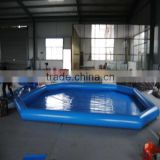 Plastic commercial inflatable swimming pool, bubble baby inflatable spa pool