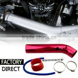 Wholesale Universal 3 Color Aluminium Air Intake Pipe/cold air intake pipe