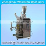 High quality DXDC-6 pyramidal/rectangular (flat) tea bag (with string and tag) packing machine for nylon cloth