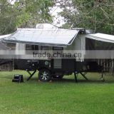 Kinlife Camping Car Trailer With Pop Up Tent For Sale By Manufacture with 8 8 years experience in camping trailers                                                                         Quality Choice