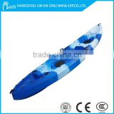 kayak single kayak no inflatable LLDPE fishing kayak boat wholesale