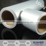 Matte Silver Polyester film self adhesive paper roll,same as AVERY 72826T