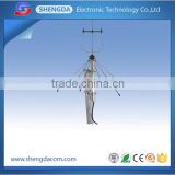 High performance 265/395mhz outdoor omni cordless phone antenna 258 plus with TNC-Male connector