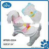Dog Bathrobe cute Duck pattern apparel