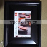 bulk wholesale classical black PS plastic photo picture frame 4x6 5x7 6x8 8x10