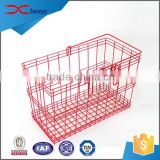 Custom made durable indeformable large wire storage basket