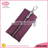New trending genuine leather key chain with multi key holders