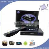 unique design magic box tv receiver f8 android 4.4.2 Amlogic S812 support 3D full HD movie