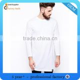 Newest rayon polyester cotton t-shirt long