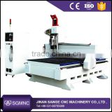 China automatic 3d wood door making cnc router , wood carving machine with aluminium composite panel for sale