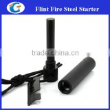 12mm ferro rod survival fire starter with metal casing