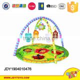 New product Lovely baby play mat educational toy high quality soft stuffed plush baby play gym mat