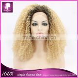 New arrival top quality synthetic full machine made wig two tone color wig in color#1b/613 in stock