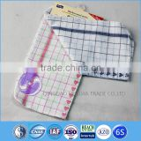 100% cotton yarn dyed waffle kitchen towels from china