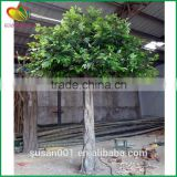 outdoor artificial ficus tree fake evergreen tree fiber artificial banyan tree