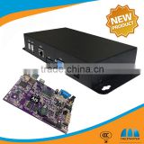 Most Popular LCD Advertising player network full HD 1080P digital signage box