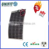 Amorphous Silicon Flexible Solar Panels For Boats & Poly Solar Module 250w With Thin Film