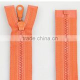 2016 plastic or derlin or resin zipper for bag or clothing or stuffed toys or wardrobe zipper