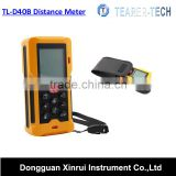2016 TL-D40B newest OEM pocket hot sale laser distance meter with two bobble levels