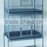 Pet Products Double Stack Large Breeding Bird Parrot Cages With Wheels                                                                         Quality Choice