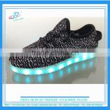 Most Popular Adult 7 Colors LED Light Shoes Yeezy Light Shoes with High Quality