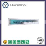 High quality low price china lead manufacturer T8 tube fixture IP65 2x18w explosion proof fluorescent luminaire