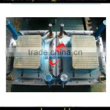 Good quality injection plastic square crate mould