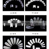 French /full cover/half cover artificial nail for decoration DIY nail arts Salon use