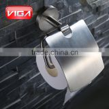 China bathroom design decorative 304ss roll toilet towel paper roll holder