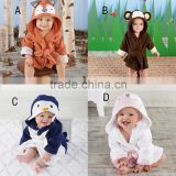 animal pajamas costume cotton christmas halloween cartoon animal baby sleepwear nighgown