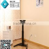 Ergonomic electric single foot sit to stand reception desk office/home height adjustable desk
