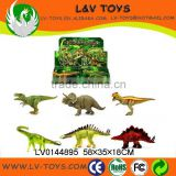 LV0144895 bulk buy from china plastic animal toys colorful animal toys