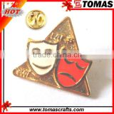 Factory making custom made bulk lapel pin for craft gift