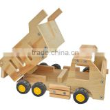 China Factory FSC&BSCI Christmas crafts DIY wooden assembly car toy for students educational